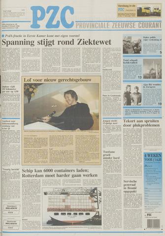 Provinciale Zeeuwse Courant 1996-02-06