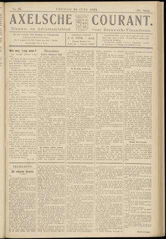 Axelsche Courant 1933-06-30