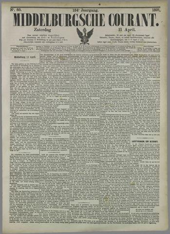 Middelburgsche Courant 1891-04-11