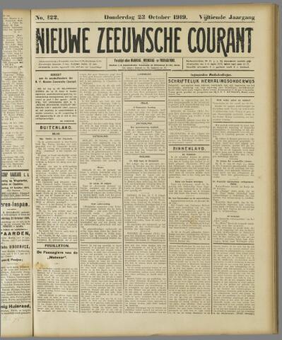 Nieuwe Zeeuwsche Courant 1919-10-23