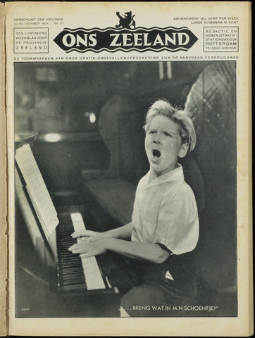 Ons Zeeland / Zeeuwsche editie 1934-11-30