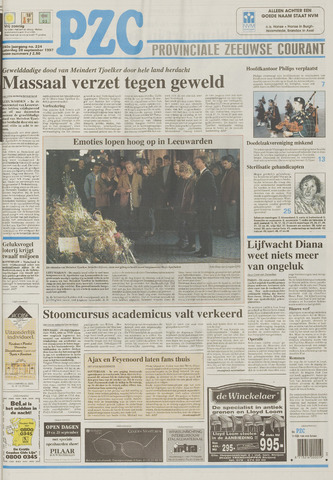Provinciale Zeeuwse Courant 1997-09-20