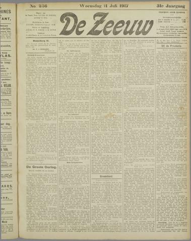 De Zeeuw. Christelijk-historisch nieuwsblad voor Zeeland 1917-07-11