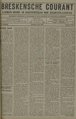 Breskensche Courant 1922-07-22