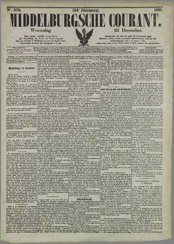 Middelburgsche Courant 1891-12-23