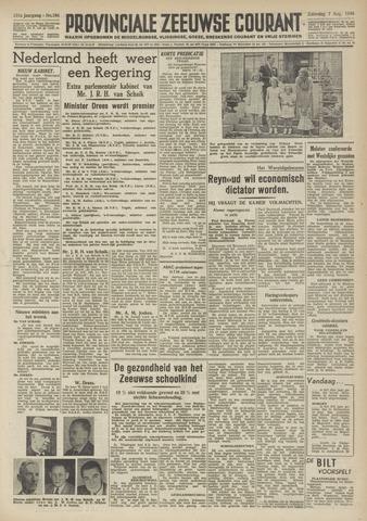Provinciale Zeeuwse Courant 1948-08-07
