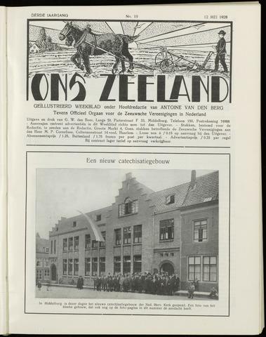 Ons Zeeland / Zeeuwsche editie 1928-05-12