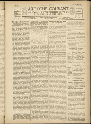 Axelsche Courant 1945-04-17