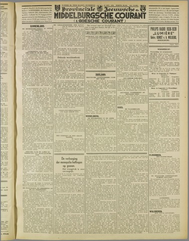 Middelburgsche Courant 1938-08-25