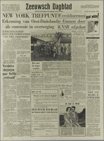 Zeeuwsch Dagblad 1961-09-15