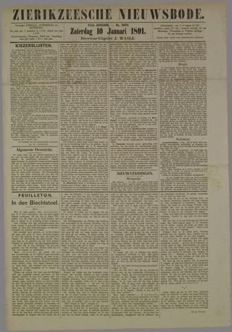 Zierikzeesche Nieuwsbode 1891-01-10