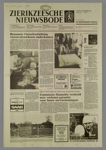 Zierikzeesche Nieuwsbode 1985-10-18