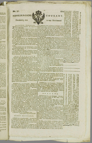 Middelburgsche Courant 1810-05-10