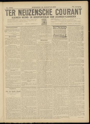 Ter Neuzensche Courant. Algemeen Nieuws- en Advertentieblad voor Zeeuwsch-Vlaanderen / Neuzensche Courant ... (idem) / (Algemeen) nieuws en advertentieblad voor Zeeuwsch-Vlaanderen 1935-08-28