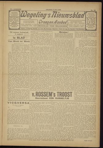 Zeeuwsch Nieuwsblad/Wegeling's Nieuwsblad 1931-07-03