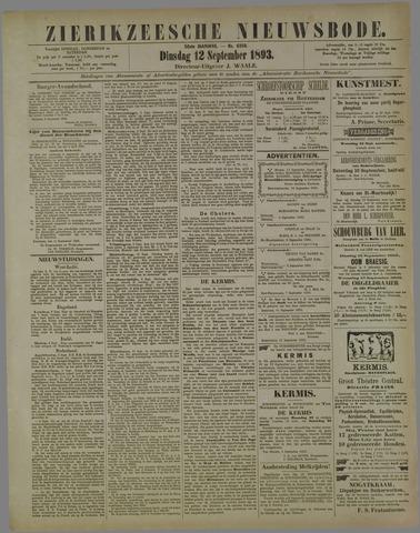 Zierikzeesche Nieuwsbode 1893-09-12