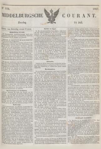 Middelburgsche Courant 1867-07-14