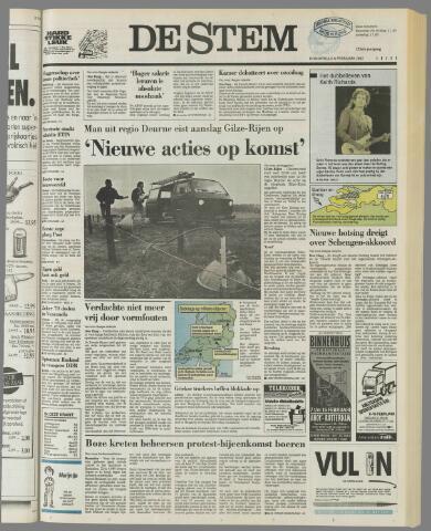 de Stem 1992-02-06