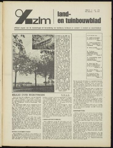 Zeeuwsch landbouwblad ... ZLM land- en tuinbouwblad 1972-07-21