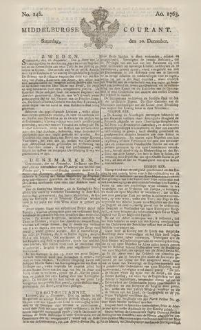 Middelburgsche Courant 1763-12-10