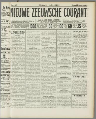 Nieuwe Zeeuwsche Courant 1916-10-24