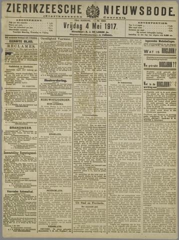 Zierikzeesche Nieuwsbode 1917-05-04