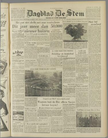 de Stem 1952-10-25