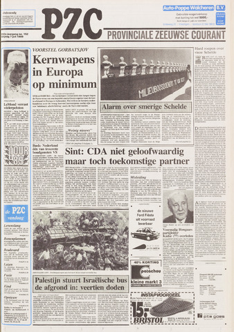 Provinciale Zeeuwse Courant 1989-07-07