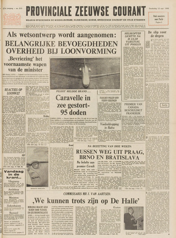 Provinciale Zeeuwse Courant 1968-09-12