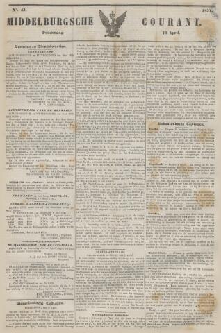Middelburgsche Courant 1851-04-10