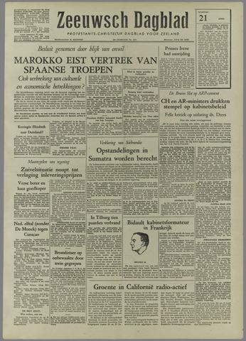 Zeeuwsch Dagblad 1958-04-21