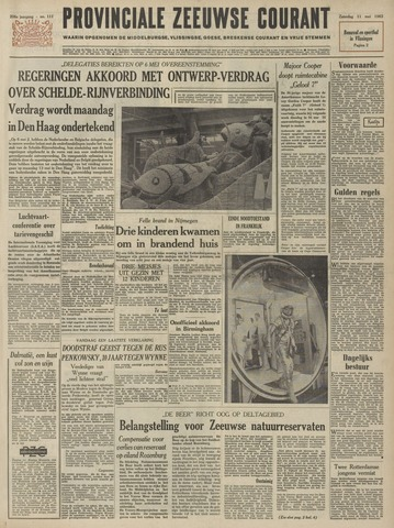 Provinciale Zeeuwse Courant 1963-05-11