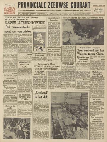 Provinciale Zeeuwse Courant 1963-02-11