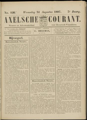 Axelsche Courant 1887-08-31