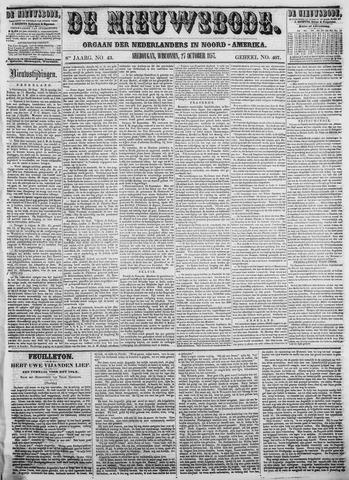 Sheboygan Nieuwsbode 1857-10-27
