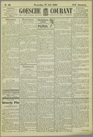 Goessche Courant 1927-07-27