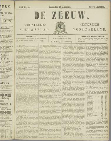 De Zeeuw. Christelijk-historisch nieuwsblad voor Zeeland 1888-08-30