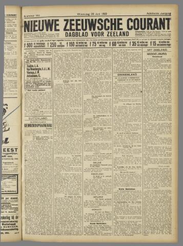 Nieuwe Zeeuwsche Courant 1922-06-28