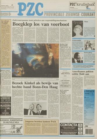 Provinciale Zeeuwse Courant 1994-10-04