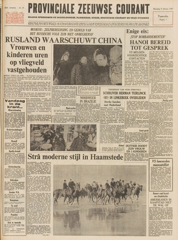 Provinciale Zeeuwse Courant 1967-02-06