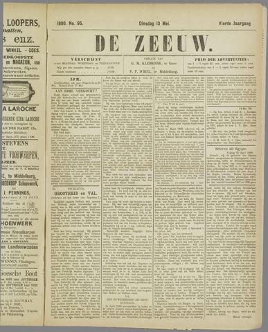 De Zeeuw. Christelijk-historisch nieuwsblad voor Zeeland 1890-05-13