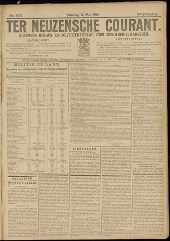 Ter Neuzensche Courant. Algemeen Nieuws- en Advertentieblad voor Zeeuwsch-Vlaanderen / Neuzensche Courant ... (idem) / (Algemeen) nieuws en advertentieblad voor Zeeuwsch-Vlaanderen 1914-05-19