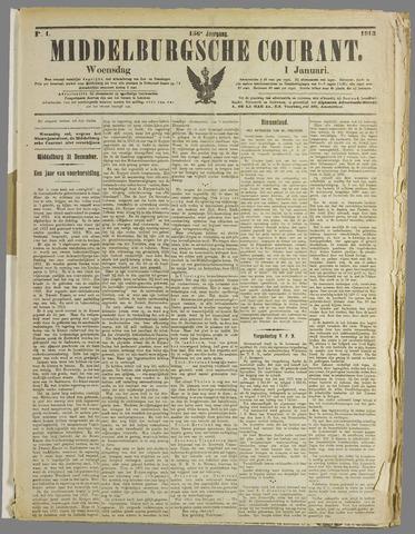 Middelburgsche Courant 1913