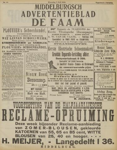 de Faam en de Faam/de Vlissinger 1915-07-07