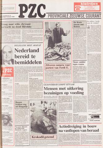 Provinciale Zeeuwse Courant 1989-01-11