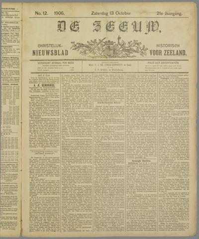 De Zeeuw. Christelijk-historisch nieuwsblad voor Zeeland 1906-10-13