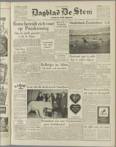 de Stem 1958-11-03