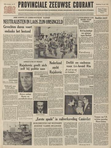 Provinciale Zeeuwse Courant 1963-04-18