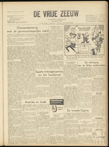 de Vrije Zeeuw 1957-02-21