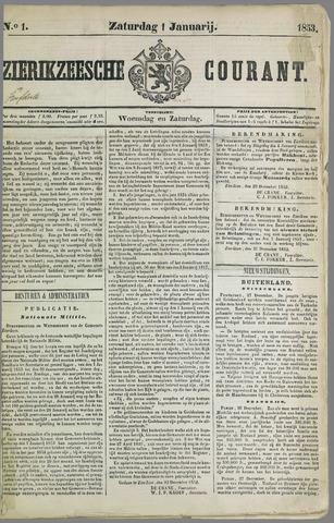 Zierikzeesche Courant 1853